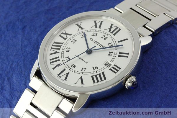 Used luxury watch Cartier Ronde Solo steel automatic Kal. 049 ETA 2892A2  | 151513 01