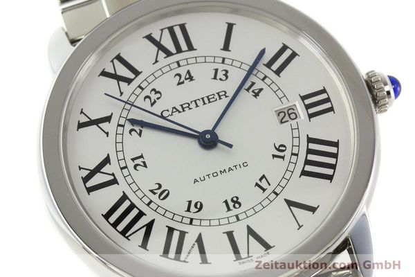 Used luxury watch Cartier Ronde Solo steel automatic Kal. 049 ETA 2892A2  | 151513 02