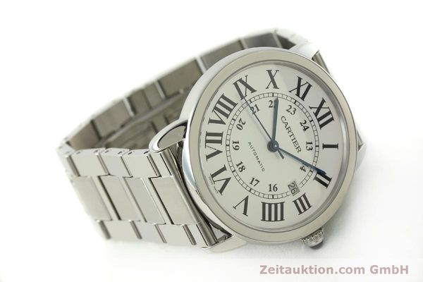 Used luxury watch Cartier Ronde Solo steel automatic Kal. 049 ETA 2892A2  | 151513 03