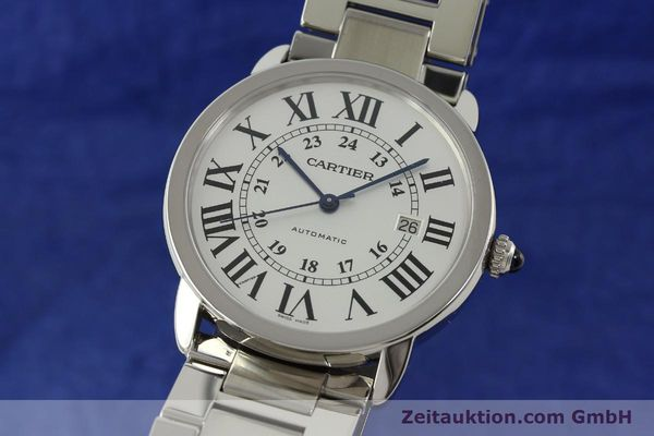 Used luxury watch Cartier Ronde Solo steel automatic Kal. 049 ETA 2892A2  | 151513 04