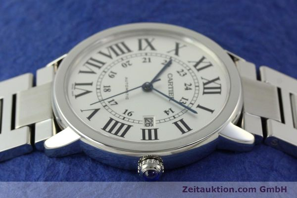 Used luxury watch Cartier Ronde Solo steel automatic Kal. 049 ETA 2892A2  | 151513 05