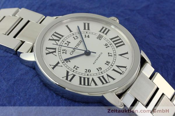 Used luxury watch Cartier Ronde Solo steel automatic Kal. 049 ETA 2892A2  | 151513 16