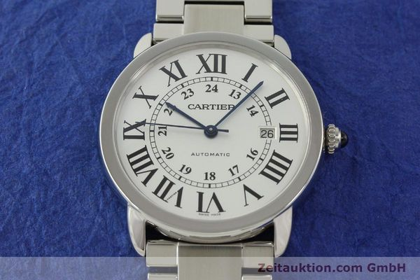Used luxury watch Cartier Ronde Solo steel automatic Kal. 049 ETA 2892A2  | 151513 17