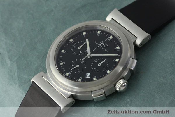 Used luxury watch IWC Da Vinci chronograph steel quartz Kal. 630/1 Ref. 3728  | 151514 01