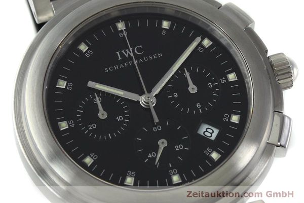 Used luxury watch IWC Da Vinci chronograph steel quartz Kal. 630/1 Ref. 3728  | 151514 02