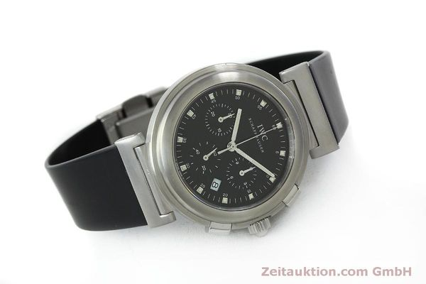 Used luxury watch IWC Da Vinci chronograph steel quartz Kal. 630/1 Ref. 3728  | 151514 03