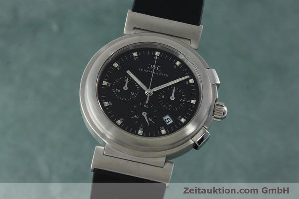 Used luxury watch IWC Da Vinci chronograph steel quartz Kal. 630/1 Ref. 3728  | 151514 04