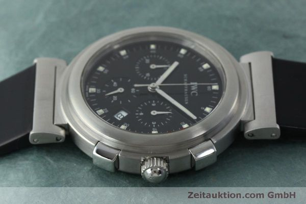 Used luxury watch IWC Da Vinci chronograph steel quartz Kal. 630/1 Ref. 3728  | 151514 05