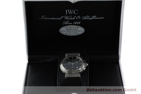 Used luxury watch IWC Da Vinci chronograph steel quartz Kal. 630/1 Ref. 3728  | 151514 07