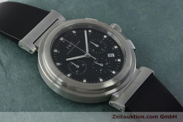 Used luxury watch IWC Da Vinci chronograph steel quartz Kal. 630/1 Ref. 3728  | 151514 14