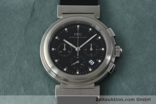 Used luxury watch IWC Da Vinci chronograph steel quartz Kal. 630/1 Ref. 3728  | 151514 15