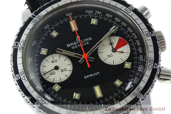Used luxury watch Breitling Sprint chronograph steel manual winding Kal. 7733 Ref. 2010 VINTAGE  | 151515 02
