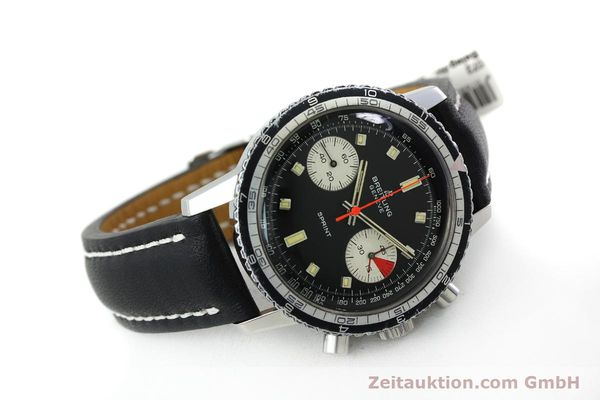 Used luxury watch Breitling Sprint chronograph steel manual winding Kal. 7733 Ref. 2010 VINTAGE  | 151515 03