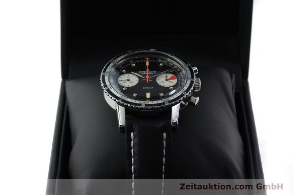 Used luxury watch Breitling Sprint chronograph steel manual winding Kal. 7733 Ref. 2010 VINTAGE  | 151515 07