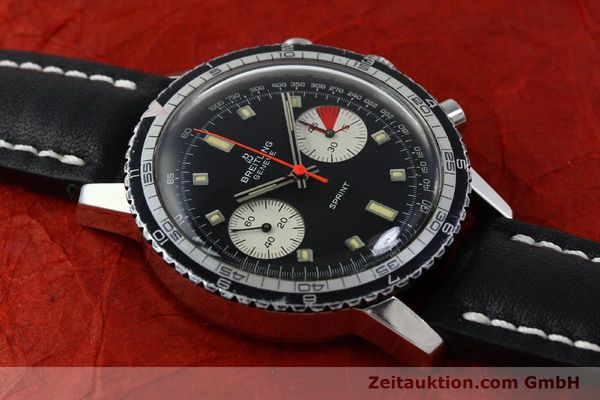 Used luxury watch Breitling Sprint chronograph steel manual winding Kal. 7733 Ref. 2010 VINTAGE  | 151515 12