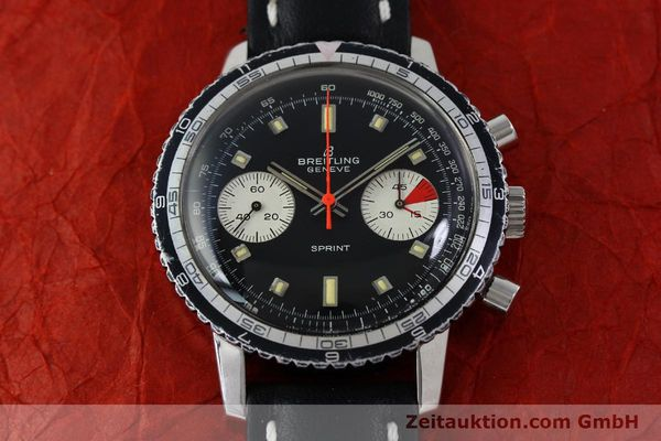 Used luxury watch Breitling Sprint chronograph steel manual winding Kal. 7733 Ref. 2010 VINTAGE  | 151515 13