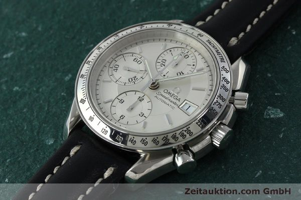 Used luxury watch Omega Speedmaster chronograph steel automatic Kal. 1152  | 151517 01