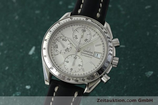 Used luxury watch Omega Speedmaster chronograph steel automatic Kal. 1152  | 151517 04