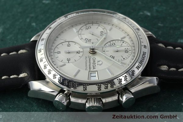 Used luxury watch Omega Speedmaster chronograph steel automatic Kal. 1152  | 151517 05