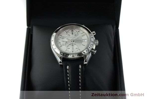 Used luxury watch Omega Speedmaster chronograph steel automatic Kal. 1152  | 151517 07