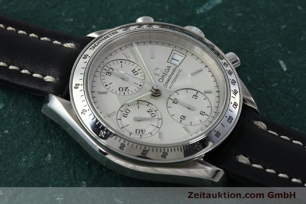 Used luxury watch Omega Speedmaster chronograph steel automatic Kal. 1152  | 151517 14