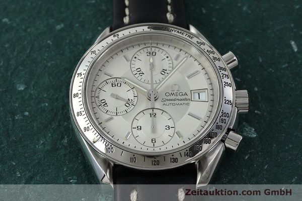 Used luxury watch Omega Speedmaster chronograph steel automatic Kal. 1152  | 151517 15