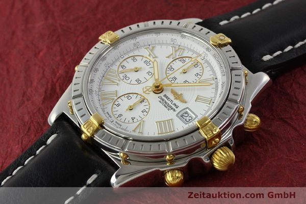 Used luxury watch Breitling Crosswind chronograph steel / gold automatic Kal. B13 ETA 7750 Ref. B13355  | 151520 01