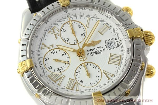 Used luxury watch Breitling Crosswind chronograph steel / gold automatic Kal. B13 ETA 7750 Ref. B13355  | 151520 02
