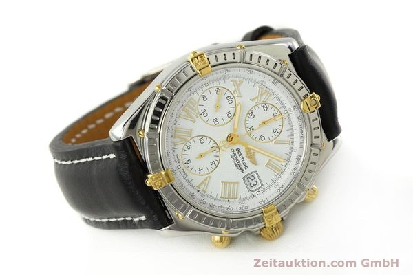 Used luxury watch Breitling Crosswind chronograph steel / gold automatic Kal. B13 ETA 7750 Ref. B13355  | 151520 03