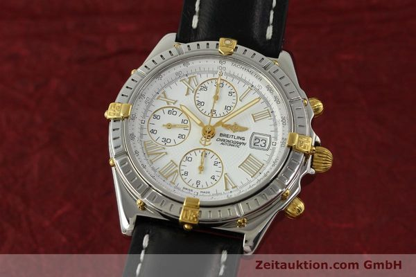 Used luxury watch Breitling Crosswind chronograph steel / gold automatic Kal. B13 ETA 7750 Ref. B13355  | 151520 04