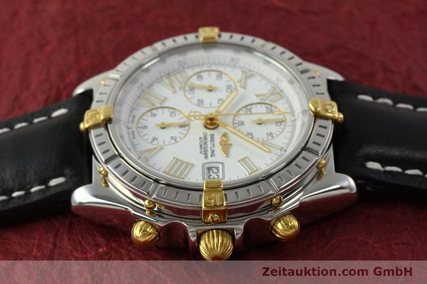 Used luxury watch Breitling Crosswind chronograph steel / gold automatic Kal. B13 ETA 7750 Ref. B13355  | 151520 05