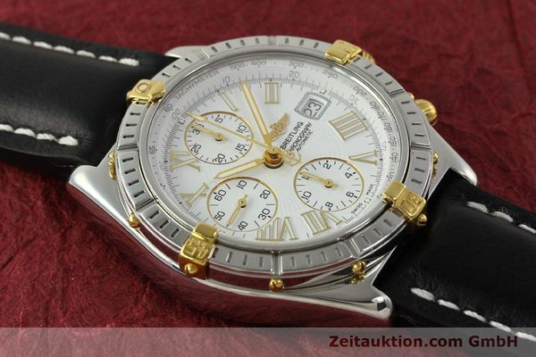 Used luxury watch Breitling Crosswind chronograph steel / gold automatic Kal. B13 ETA 7750 Ref. B13355  | 151520 14