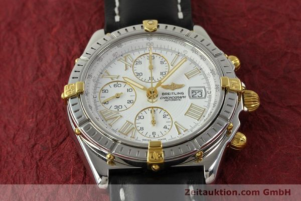 Used luxury watch Breitling Crosswind chronograph steel / gold automatic Kal. B13 ETA 7750 Ref. B13355  | 151520 15
