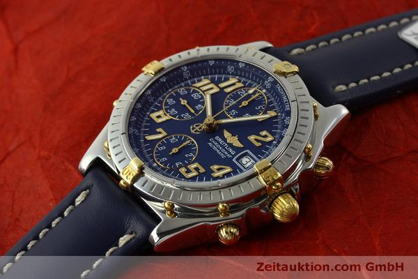Used luxury watch Breitling Chronomat chronograph steel / gold automatic Kal. B13 ETA 7750 Ref. B13350  | 151521 01