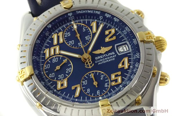 Used luxury watch Breitling Chronomat chronograph steel / gold automatic Kal. B13 ETA 7750 Ref. B13350  | 151521 02