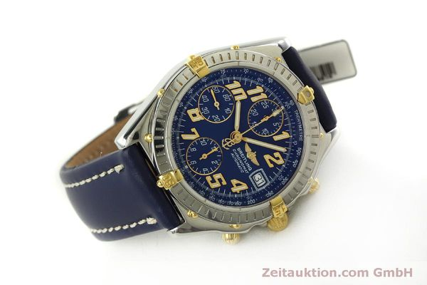 Used luxury watch Breitling Chronomat chronograph steel / gold automatic Kal. B13 ETA 7750 Ref. B13350  | 151521 03