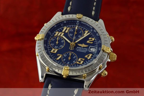 Used luxury watch Breitling Chronomat chronograph steel / gold automatic Kal. B13 ETA 7750 Ref. B13350  | 151521 04