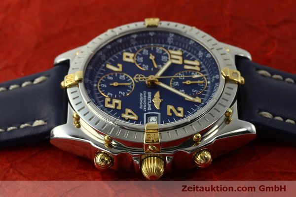 Used luxury watch Breitling Chronomat chronograph steel / gold automatic Kal. B13 ETA 7750 Ref. B13350  | 151521 05