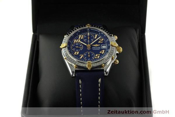 Used luxury watch Breitling Chronomat chronograph steel / gold automatic Kal. B13 ETA 7750 Ref. B13350  | 151521 07
