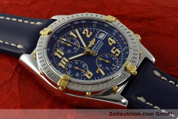 Used luxury watch Breitling Chronomat chronograph steel / gold automatic Kal. B13 ETA 7750 Ref. B13350  | 151521 14