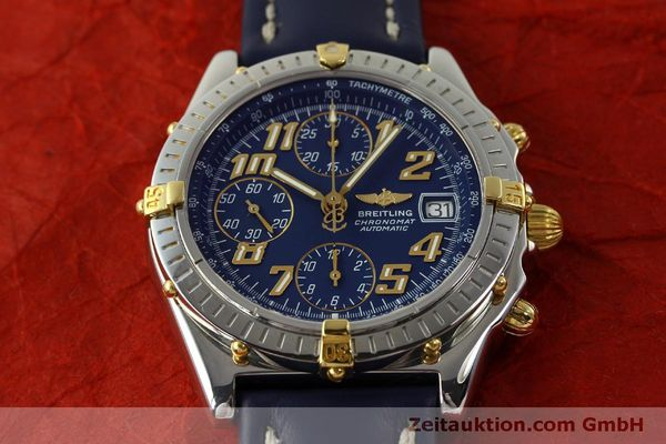 Used luxury watch Breitling Chronomat chronograph steel / gold automatic Kal. B13 ETA 7750 Ref. B13350  | 151521 15