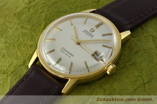 Used luxury watch Omega Seamaster gold-plated automatic Kal. 565 Ref. 166037 VINTAGE  | 151524 01