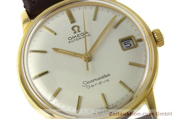 Used luxury watch Omega Seamaster gold-plated automatic Kal. 565 Ref. 166037 VINTAGE  | 151524 02