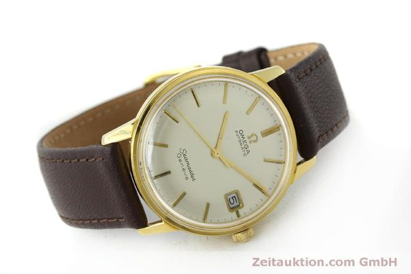 Used luxury watch Omega Seamaster gold-plated automatic Kal. 565 Ref. 166037 VINTAGE  | 151524 03