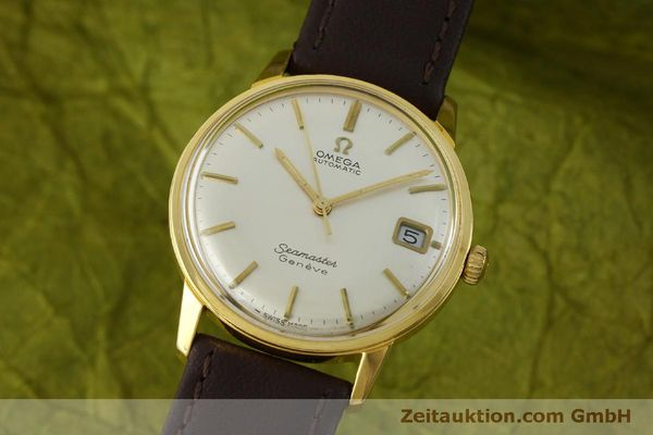 Used luxury watch Omega Seamaster gold-plated automatic Kal. 565 Ref. 166037 VINTAGE  | 151524 04