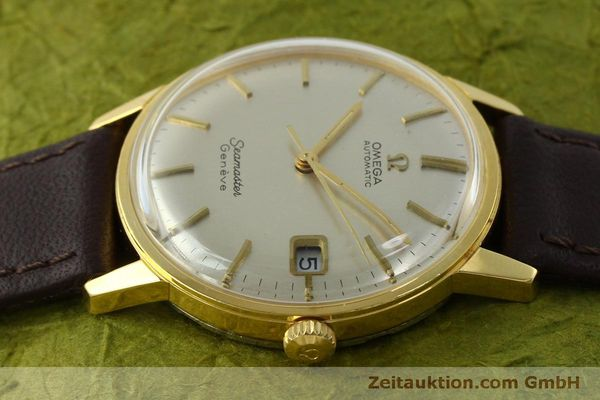 Used luxury watch Omega Seamaster gold-plated automatic Kal. 565 Ref. 166037 VINTAGE  | 151524 05
