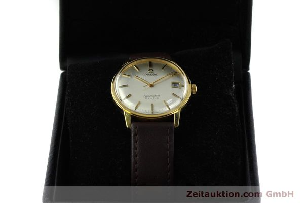 Used luxury watch Omega Seamaster gold-plated automatic Kal. 565 Ref. 166037 VINTAGE  | 151524 07