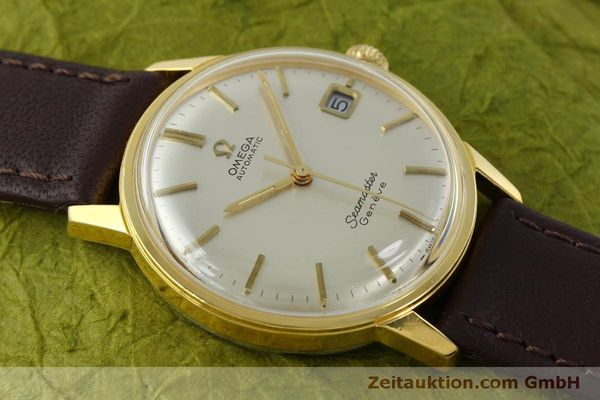 Used luxury watch Omega Seamaster gold-plated automatic Kal. 565 Ref. 166037 VINTAGE  | 151524 13
