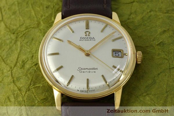 Used luxury watch Omega Seamaster gold-plated automatic Kal. 565 Ref. 166037 VINTAGE  | 151524 14