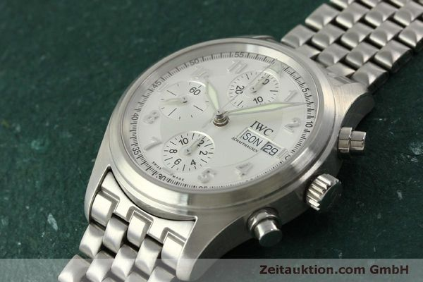 Used luxury watch IWC Fliegerchronograph chronograph steel automatic Kal. 7922 Ref. 3706  | 151525 01